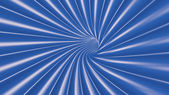Blue Tunnel Background — Stock Photo