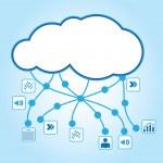 Cloud computing — Stock Vector #11038126