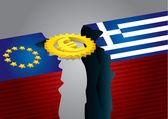 Símbolo del euro — Vector de stock