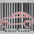 Royalty-Free Stock Vector Image: Commercial concept with barcode