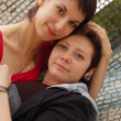 Stock Photo: Women couple