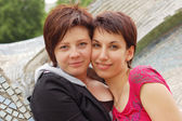 Women couple — Stock Photo