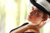 Elegant young woman — Stock Photo