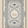 Stock vektor: Vintage frames and design elements - with place for your text -