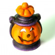 Stock Photo: Halloween Lantern isolated