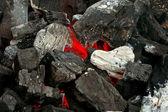 烧烤煤-2 — 图库照片