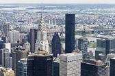 Vista desde el edificio empire state — Foto de Stock