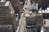 Down view from Empire State Building — Stock Photo