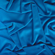 Blue fabric — Stockfoto