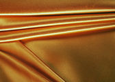 Gold fabric — Stock Photo