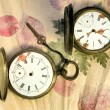 Old pocket watch — Stock Photo #10948716
