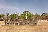 Latha mandapaya - lotus anctuary - ancient capital of Ceylon i — Stockfoto