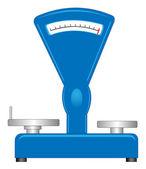 Shop scales — Stock Vector