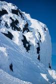 горы хибины зимой — Стоковое фото