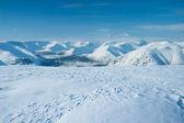 Mountains Hibiny at winter — Stock Photo
