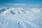 Hibiny de montañas en invierno — Foto de Stock
