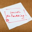 Stock Photo: Social Networking