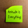 Attitude is Everything — Stock Photo #11563403
