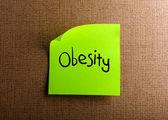 Obezite — Stok fotoğraf
