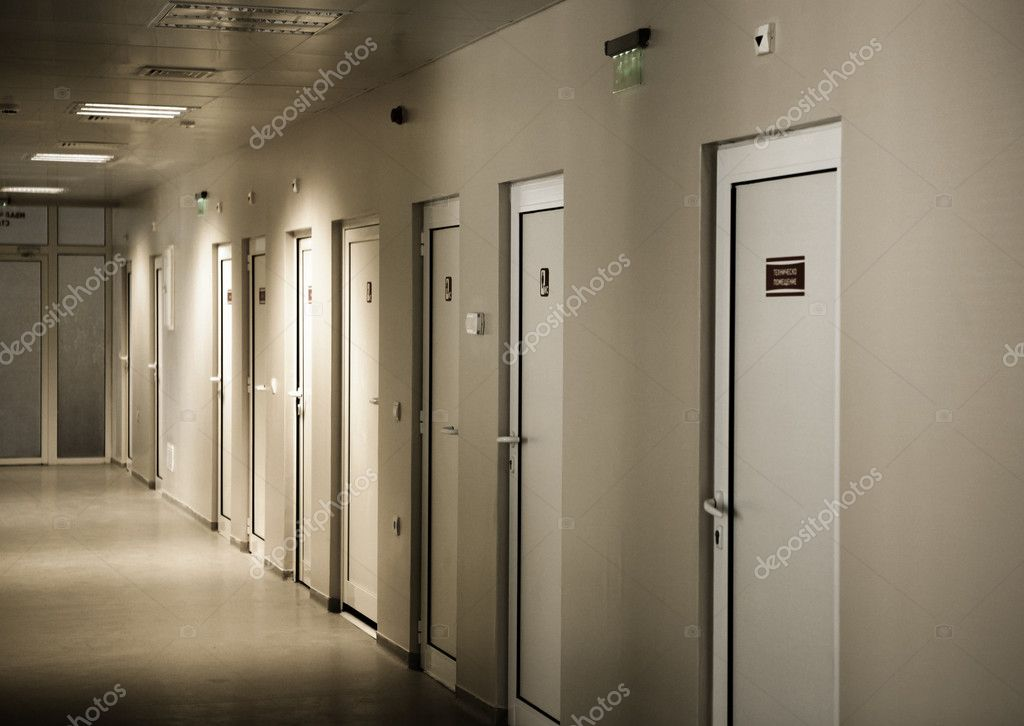 Hospital interior.  Stock Photo #12218736