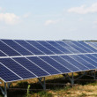 Solar panels at solar power plant — Stock Photo #12227396