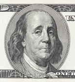Crying president Franklin — Stock Photo