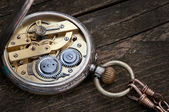Old pocket watch — 图库照片