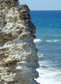 Rock ve dalgalar — Stok fotoğraf