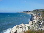Sea, waves and rocks — Stock Photo