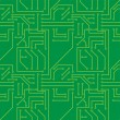Royalty-Free Stock Imagen vectorial: Electronic Seamless pattern