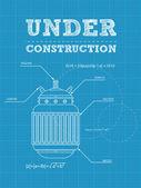 Under construction — Stok Vektör