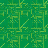 Electronic Seamless pattern — ストックベクタ