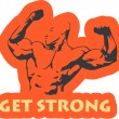 Get Strong — Stock Vector #11394862