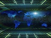 Toward Digital World — Stock Photo