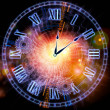Clock abstraction — Stock Photo