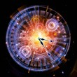 Clock abstraction - Foto de Stock