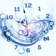 Exploded clock - Photo