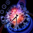 Time dynamic - Foto de Stock