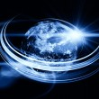 Earth Trails Background - Stock Photo