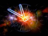 Time nebulae — Stock Photo