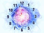 часы динамических — Стоковое фото