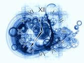 Interní informace o času — Stock fotografie
