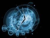 Gears времени — Стоковое фото
