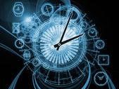 внутренние компоненты времени — Стоковое фото