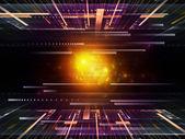 Technologii komputerowej — Zdjęcie stockowe