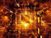Computing bakgrund — Stockfoto