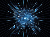 Computing Abstraction — Stock Photo