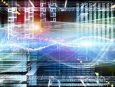 Computing Backdrop — Stock Photo