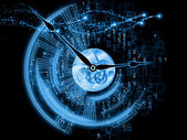 Manufacturing of time — Stock Photo