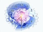 петля времени — Стоковое фото